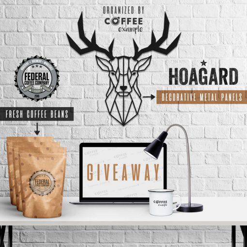 Hoagard & Federal Coffee Company – Worldwide Giveaway